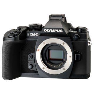 Olympus OM-D E-M1 16.3 Megapixel Mirrorless Camera Body Only - Black