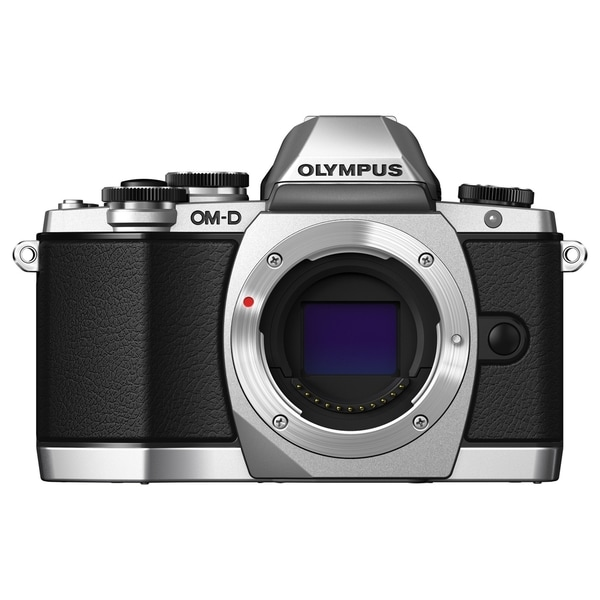 Olympus OM-D E-M10 16.1 Megapixel Mirrorless Camera (Body Only) - Bla