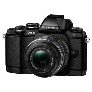 Olympus OM-D E-M10 16.1 Megapixel Mirrorless Camera (Body with Lens K