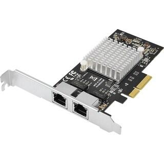 SIIG Dual Port Gigabit Ethernet Server PCIe x4 Network Card (Inteli35
