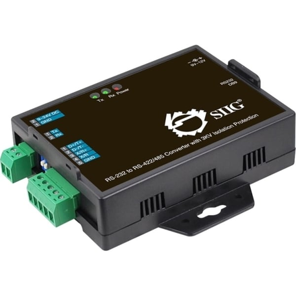 SIIG RS-232 to RS-422/485 Converter with 3KV Isolation Protection