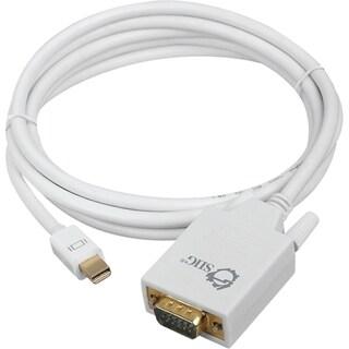 SIIG 6 ft Mini DisplayPort to VGA Converter Cable (mDP to VGA)