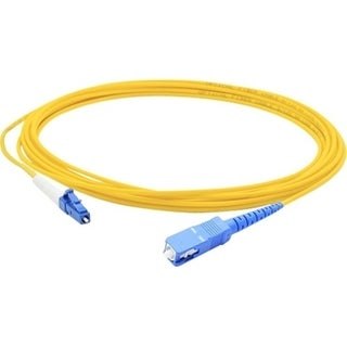 AddOn 1m SMF 9/125 Simplex SC/LC OS1 Yellow LSZH Patch Cable