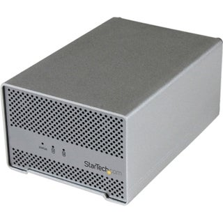 StarTech.com Thunderbolt Hard Drive Enclosure with Thunderbolt Cable
