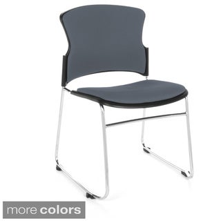 OFM Multi-use Fabric-seat Stackable Office Chair (Pack of 4)