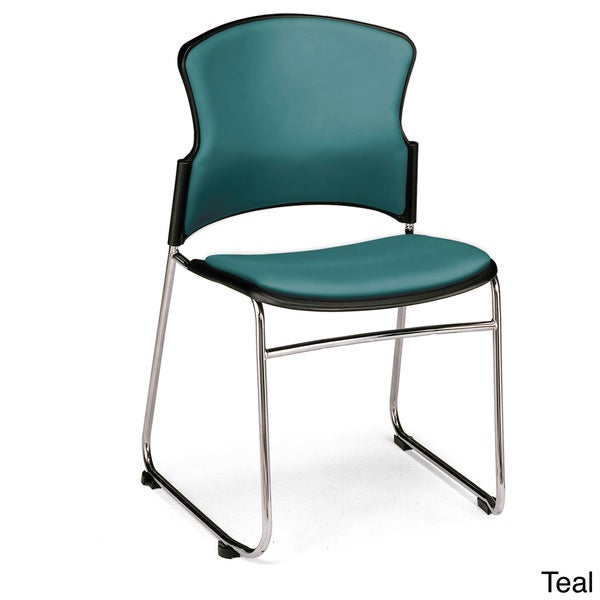 OFM Contemporary Stackable Multi-use Chairs (Set of 4)