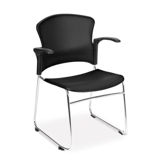OFM Stackable Multi-use Arm Chairs (Pack of 4)