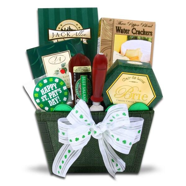 Alder Creek St. Patrick's Day Gourmet Gift Basket