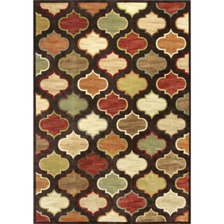 Christopher Knight Home Mocha Arabesque Area Rug (3'3 x 4'7)