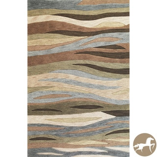 Hand-tufted Christopher Knight Home Green Breeze Area Rug (5' x 7'6)