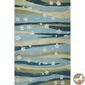 Hand-tufted Christopher Knight Home Blue/ Green Springtime Area Rug (5' x 7'6)