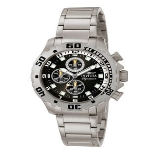 Invicta Men's IN7333 'Signature II' Stainless Steel Chronograph Watch