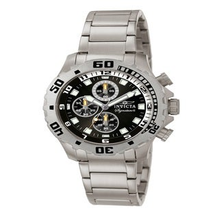 Invicta Men's 'Signature II' Stainless Steel Chronograph Watch