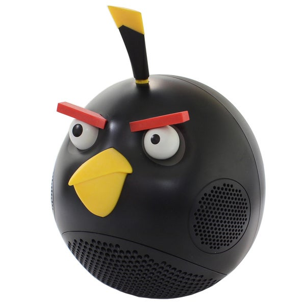 Angry Birds Black 2.1 Stereo 30-watt RMS Speaker
