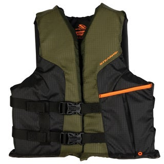 Stearns Sportsmans Green Youth Life Vest