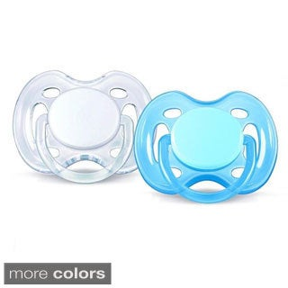 Philips Avent Freeflow 0-6 Months Pacifier (Pack of 2)