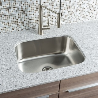 Hahn Chef Series Large Single Bowl Sink