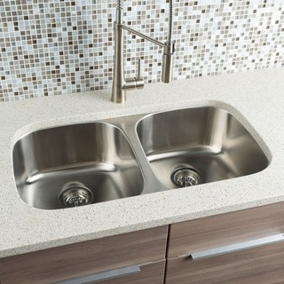 Hahn Chef Series Classic Equal Double Bowl Sink