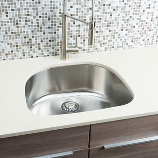 Hahn Chef Series Half-Moon Bowl Sink