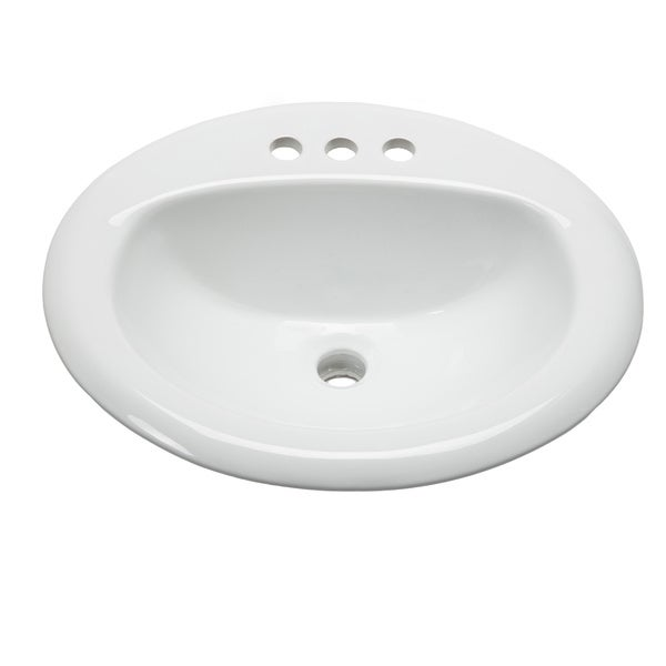 large oval bowl white dropin bathroom sink hahn ceramic bathroom sinks ...