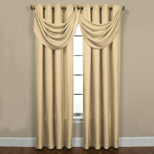 Sutton Ivory Grommet Waterfall Valance