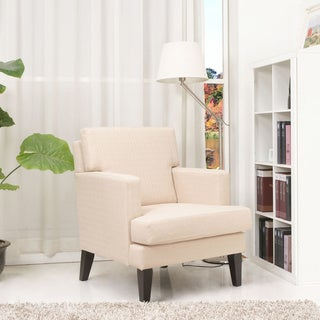 Gold Sparrow Tulsa Cream Arm Chair