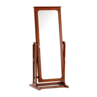Cherrywood Jewelry Armoire with Mirror