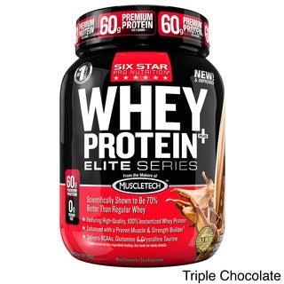 Six Star Pro Nutrition Whey Protein Plus Elite Series (2 Pounds)