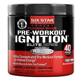 Six Star Pro Nutrition Elite Series Pre-Workout Igniter Fruit Punch 0.5-pound Powder
