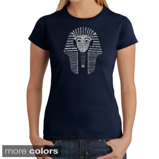 Los Angeles Pop Art Women's 'King Tut' T-shirt
