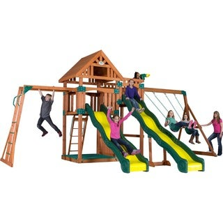 Crestwood Wooden Swingset