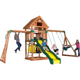 Flagstone Peak Wooden Swingset