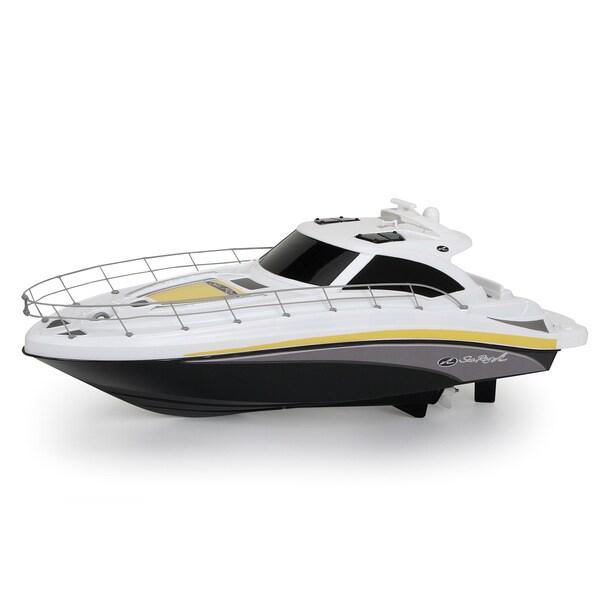 New Bright 18-inch Sea Ray Black RC FF Boat