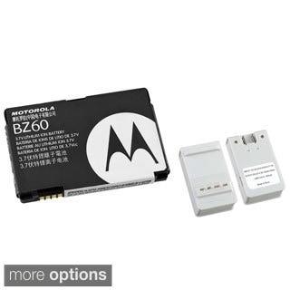 Insten Battery Desktop Charger with USB Output/ Motorola Standard OEM Battery SNN-5789C/ BZ60 for Motorola V3A/ V3XX