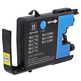INSTEN Cyan Compatible Brother LC75C/ LC75 Ink Cartridge