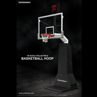 Enterbay 1/6 Scale Basketball Hoop with Shot Clock