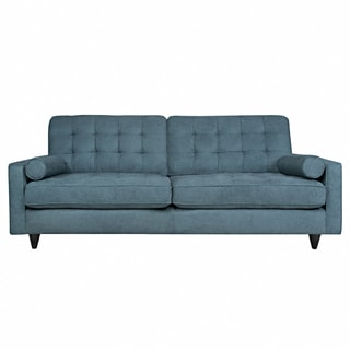 angelo:HOME Laura Parisian Blue Evening Velvet Sofa