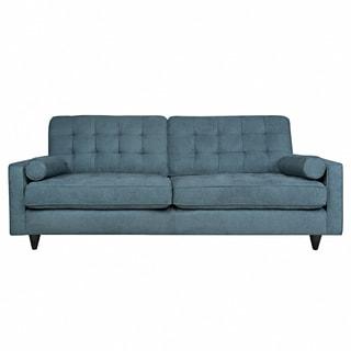 angelo:HOME Laura Parisian Blue Evening Velvet Sofa