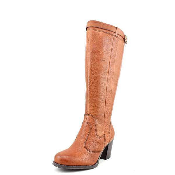 Women's Naturalizer Damaris Wide Shaft Rusty Tan Vintage Calf Leather