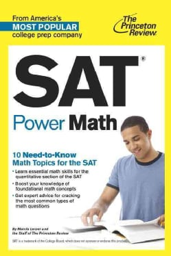The Princeton Review SAT Power Math (Paperback)