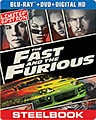 Fast and the Furious Limited Edition Steelbook (Blu-ray/DVD)