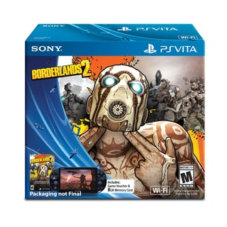 PlayStation Vita WiFi Bundle With Borderlands 2 Voucher and 8 GB Memory Card