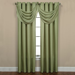 Sutton Grommet Celery Curtain Panel Pair