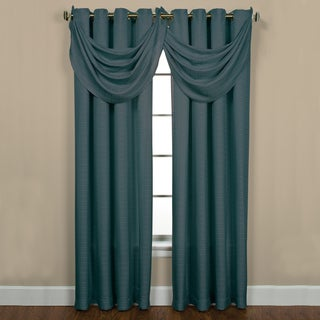 Sutton Grommet Patina Waterfall Valance