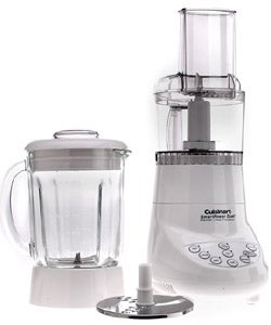 Cuisinart BFP-703FR White SmartPower Duet Blender/ Food Processor (Refurbished)