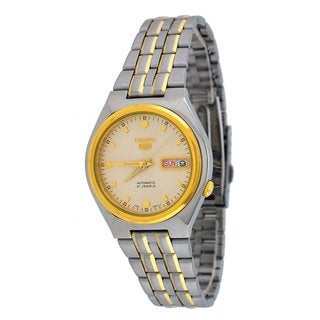 Seiko Men's Automatic Two-tone Stainless Steel Watch
