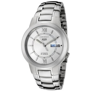Seiko Men's Automatic Stainless Steel Mineral Crystal Watch