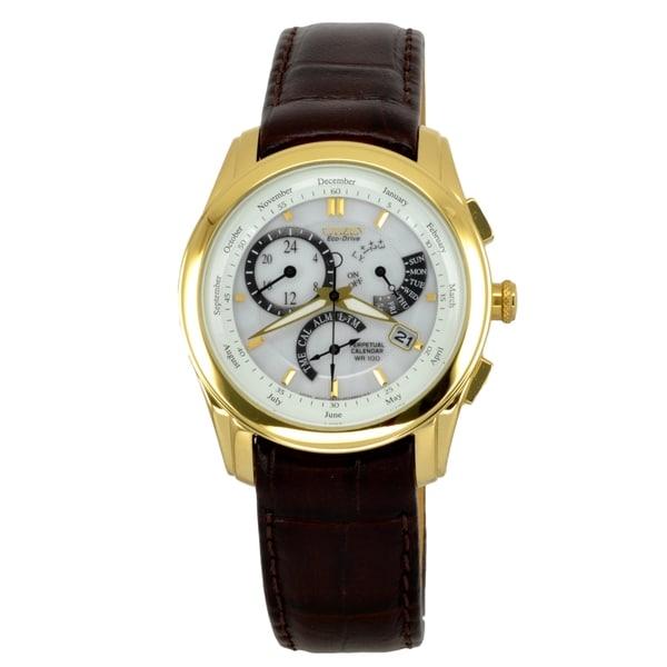 Citizen Men's BL8006-07A Calibre 8700 Gold Watch