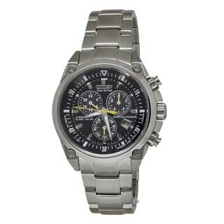 Citizen Men's BL5380-66E Chronograph Silver Watch