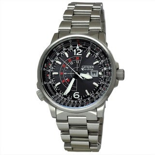 Citizen Men's BJ7017-50E Nighthawk Promaster Silver Watch